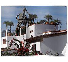 Living In The Shade Of The Church - Vivir En La Sombra De La Iglesia Poster
