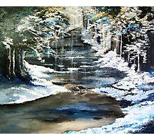 Frozen Stream Photographic Print