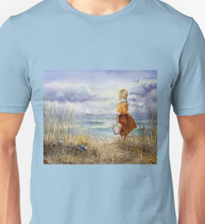 A Girl And The Ocean Unisex T-Shirt