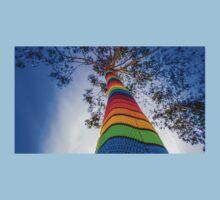 Yarn Bombed Tree, Swanston Street, Melbourne Kids Tee