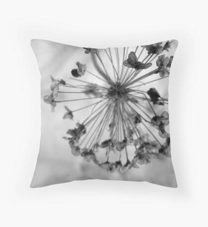 Globe Allium Throw Pillow