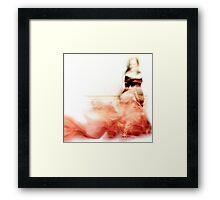 Lady Rose... Framed Print