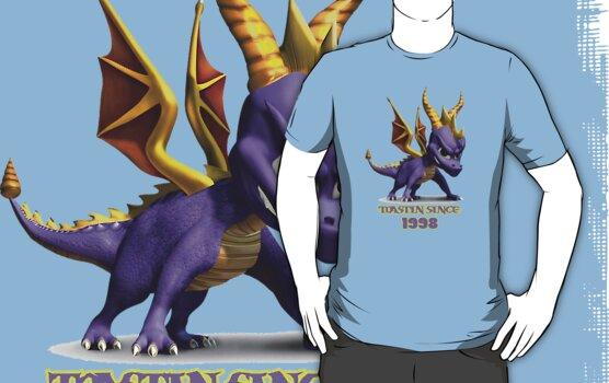 Spyro The Dragon Toastin' by Rainbowdropz
