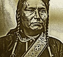 CHIEF JOSEPH-2 by OTIS PORRITT