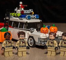 Ghostbuster Halloween by garykaz