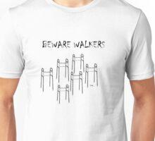 BEWARE HALLOWEEN WALKERS  Unisex T-Shirt