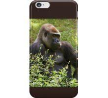 Handsome Gorilla iPhone Case/Skin