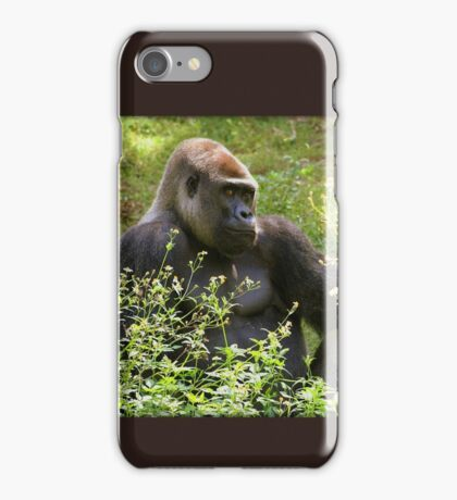 Handsome Gorilla iPhone Case/Skin