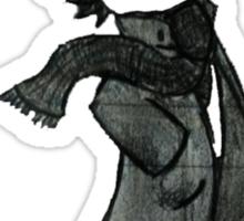 Chibi Sherlock Sticker