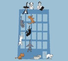 Throwing cats scientifically-Anomalous Result Kids Tee