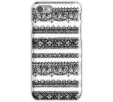 Lace - BW Ver iPhone Case/Skin