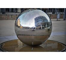 Reflected city. Photographic Print