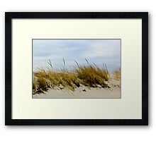 Dune and sky Framed Print
