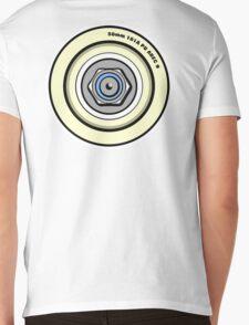 Skateboard Wheel Graphic Back  T-Shirt