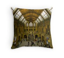 Natural History Museum Throw Pillow