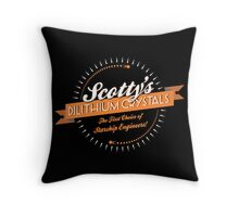Scotty's Dilithium Crystals Throw Pillow