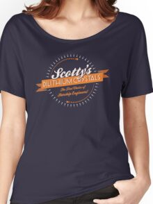 Scotty's Dilithium Crystals Women's Relaxed Fit T-Shirt