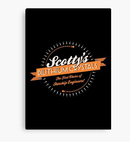 Scotty's Dilithium Crystals Canvas Print