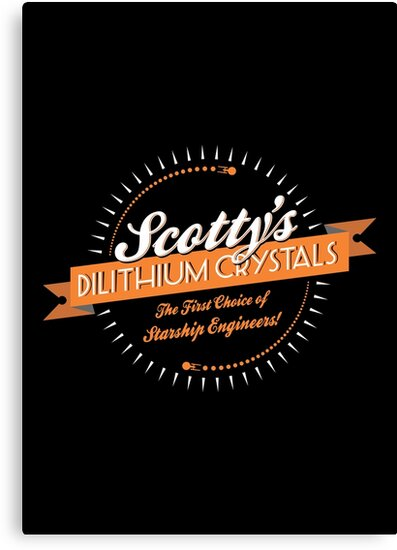 Scotty's Dilithium Crystals by Vincent Carrozza