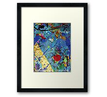 BUBBLE GUM 073.12c Framed Print