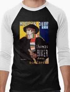 Medecin Qui? Men's Baseball ¾ T-Shirt