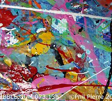 BUBBLE GUM 073.13b by Phil Pierre