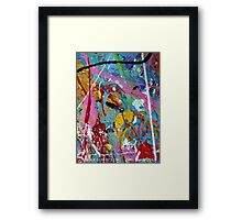 BUBBLE GUM 073.13c Framed Print