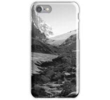 Under glacier (b&w) iPhone Case/Skin