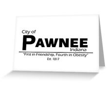City of Pawnee Greeting Card