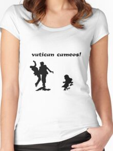 VATICAN CAMEOS! Women's Fitted Scoop T-Shirt
