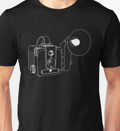 Brownie Hawkeye - Whtie lines - No text Unisex T-Shirt
