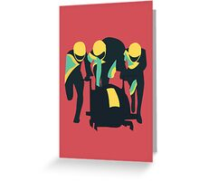 Cool Runnings Greeting Card