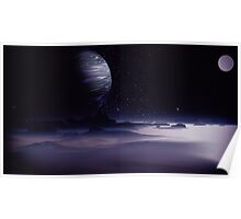Beneath the Gas Giant Tral Poster