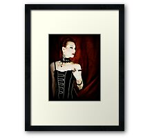 The Writing on the Wall Framed Print