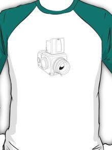 Hassy - Black Line Art - No Text T-Shirt