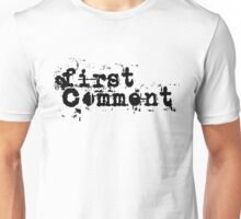 First Comment Unisex T-Shirt