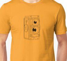 Rollie TLR - Black Line Art - No Text Unisex T-Shirt