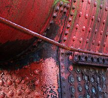 Red Rivets by Les Sharpe