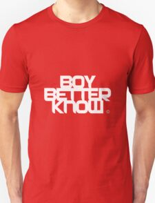 BBK- boy better know  Unisex T-Shirt