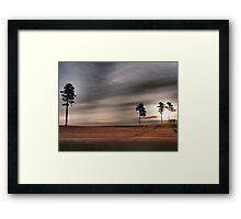 Morning Solitude #3 Framed Print