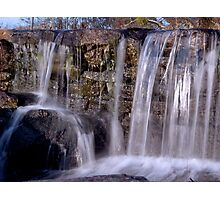 Cross Process Waterfall #3 Photographic Print