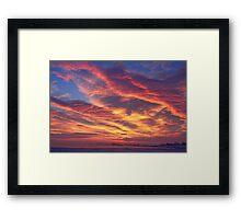 Lagerman Reservoir Sunrise 2 Framed Print
