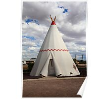 Route 66 - Wigwam Motel Poster
