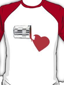 ✿♥‿♥✿ SPILT PAINT OF LOVE TEE SHIRT  ✿♥‿♥✿    T-Shirt