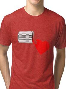 ✿♥‿♥✿ SPILT PAINT OF LOVE TEE SHIRT  ✿♥‿♥✿    Tri-blend T-Shirt