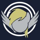 Derpy Hooves Minimalist Insignia by hausofpancakes