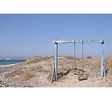 Beach swing Photographic Print