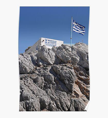 Greek house Poster
