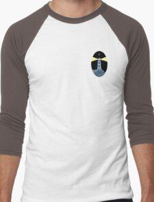 The Lighthouse (breast logo version) Men's Baseball ¾ T-Shirt