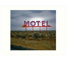 motel 2 Art Print